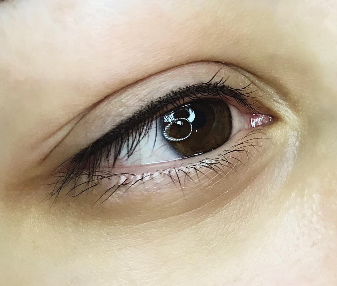 Фото глаз с татуажем век