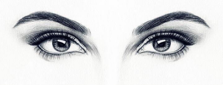 Рисунок Бровей карандашом